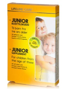 Lifeline Care Junior - Omega-3 i smakfulle geleputer